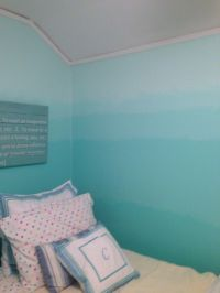 Ombr painted walls