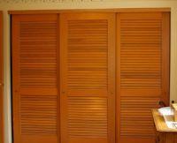 Louvered sliding closet door ideas | closet ideas ...