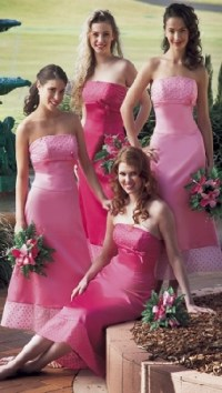 25+ best ideas about Magenta bridesmaid dresses on