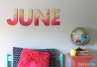 1000+ ideas about Decorate Wooden Letters on Pinterest ...