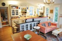 Old South London Kitchen (small open concept space) | Home ...