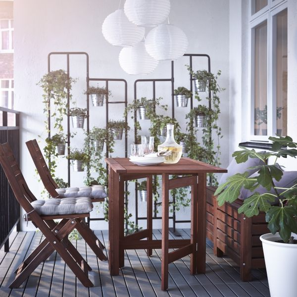 Muebles De Terraza Ikea Bring Out Your Botanical Side. These Space Saving Plant
