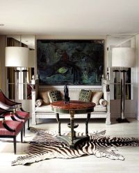 17 Best ideas about Zebra Rugs on Pinterest
