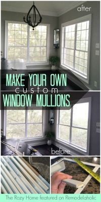 Build Your Own Window Frame - WoodWorking Projects & Plans