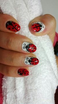 Best 25+ Ladybug nails ideas only on Pinterest