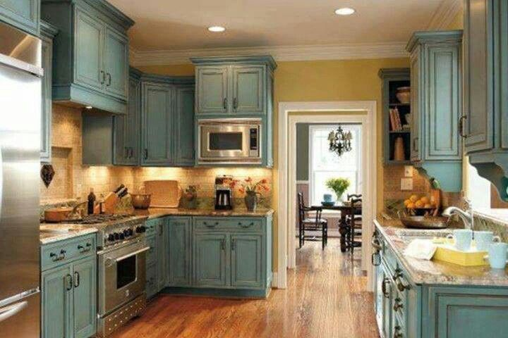 Duck Egg Blue Kitchen Cabinet Paint Chalk Paint(r) Decorative Paint In Duck Egg Clear And Dark