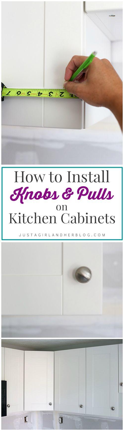 hardware kitchen cabinet hardware Kitchen Progress and Hardware Installation