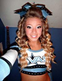 17 Best ideas about Cheerleader Hairstyles on Pinterest ...