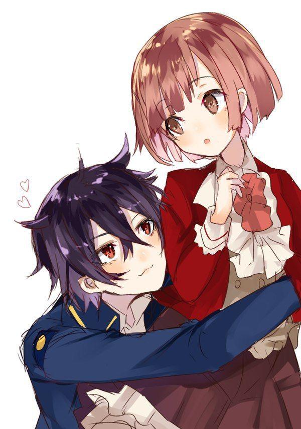 Boy And Girl Hugging Wallpaper Dance With Devils Ritsuka X Shiki Anime ☆ ☆ Dance With