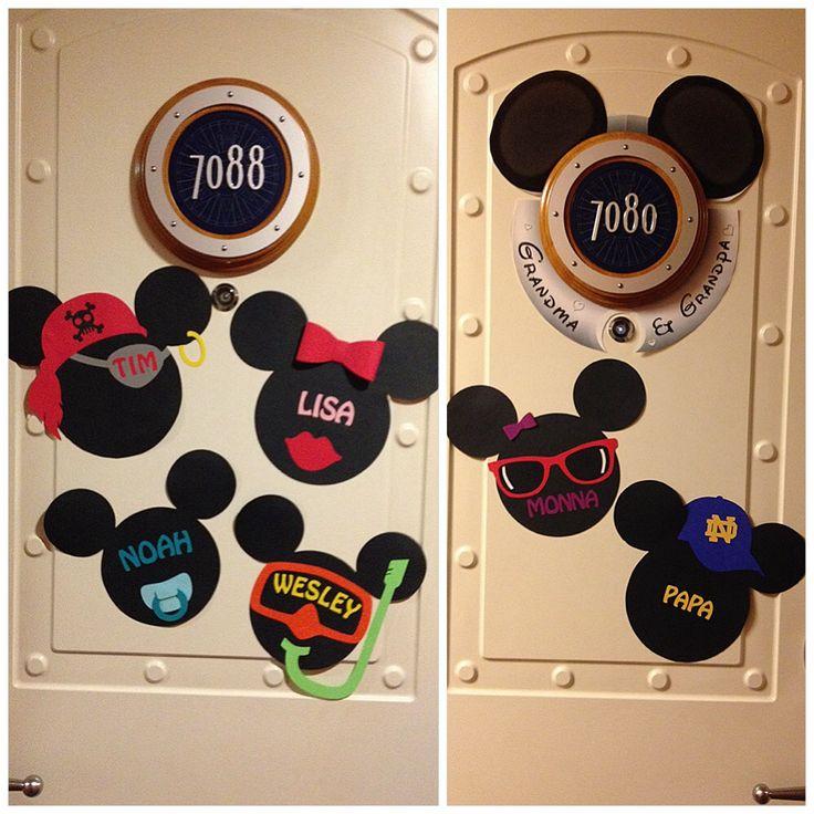 Disney Cruise Door Magnets Printable
