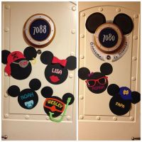 Disney Cruise Door Magnets Printable