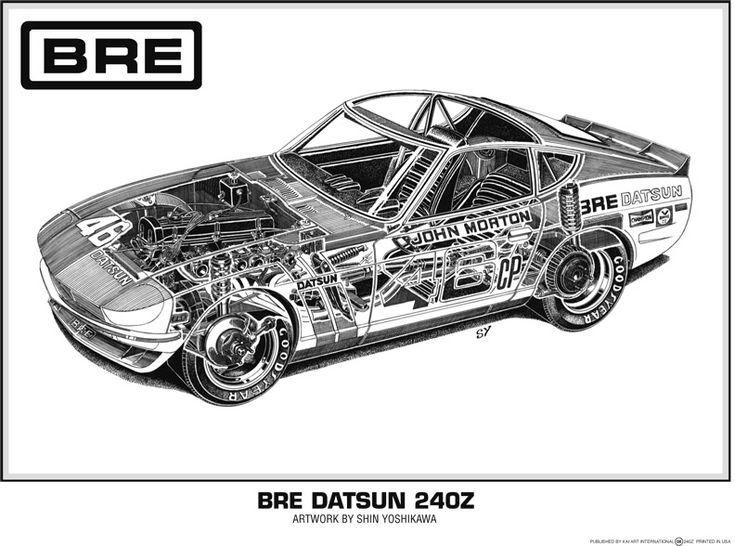 1970 nissan datsun 240z
