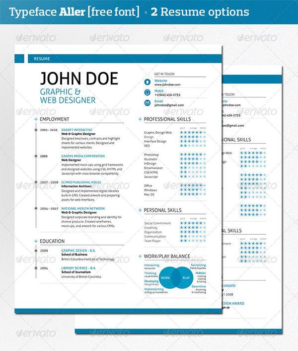 set up resume online free