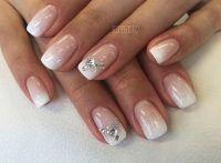 31 Elegant Wedding Nail Art Designs | Wedding, Nail design ...