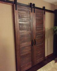 Bedroom walk-in closet doors! Love the 5 panel doors with ...
