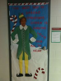 Christmas Decorating Ideas Classroom Door