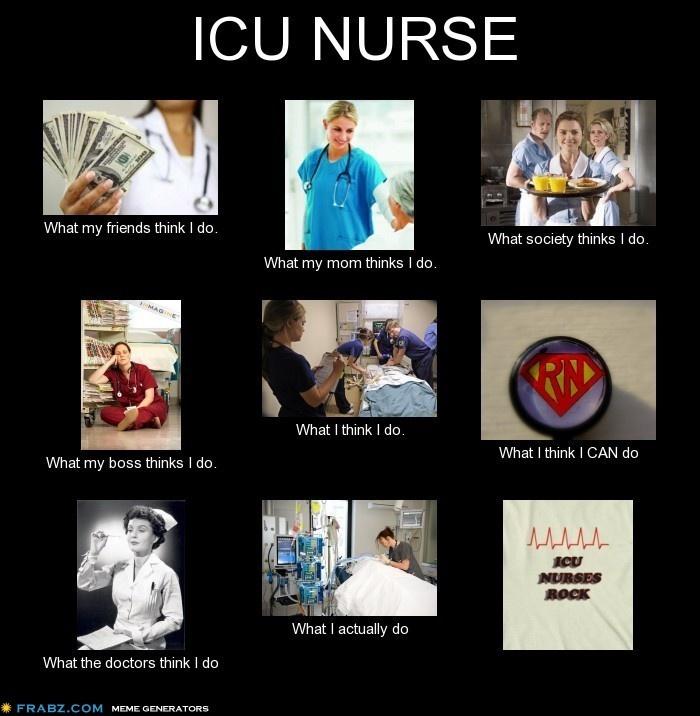 icu nurse meme