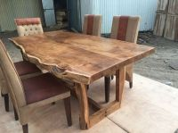 Sundara live edge table | Acacia live edge dining tables ...