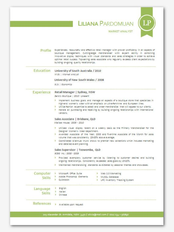 free color resume templates word