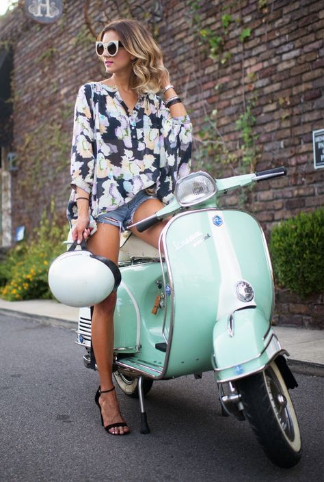 Street Racing Cars Wallpaper With Girls Vespa Girls 50cc Scooters Pinterest More Best Toys