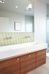 Mid Century Modern Bathroom Tile