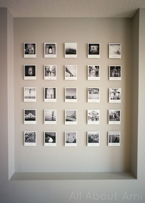 Polaroid Fotos Aufhängen 25+ Best Polaroid Wall Ideas On Pinterest