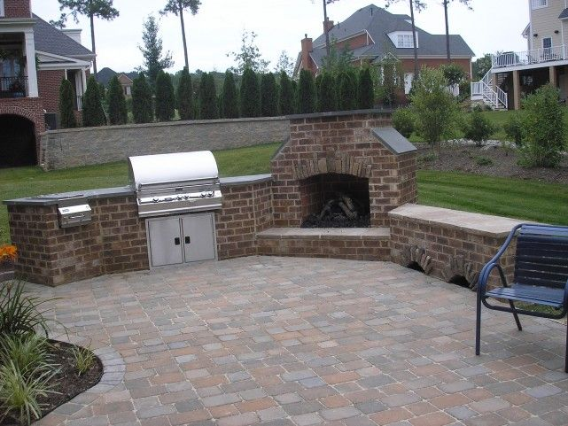 Stone Patio Built In Grill Home Is Where Ever I39m With