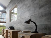 Wall covering. Grosfillex: ATTITUDE - Oxidized iron metal ...