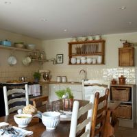 Country cottage | Kitchenware, Open shelving and Home