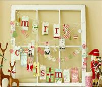 Super Easy DIY Christmas Decor Ideas - Recycled Window ...