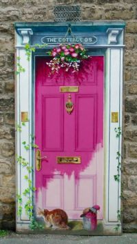 18 best images about Door murals on Pinterest | Vinyl ...