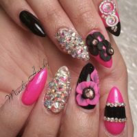 FIERCE NAIL ART PART 3: a collection of Hair and beauty ...