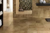 Bathroom Travertine Tile Floors and Flooring in and near ...