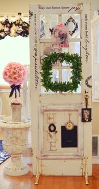 decorating with an old door | decorate with old windows ...