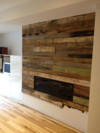 1000+ images about fireplace on Pinterest | Reclaimed wood ...