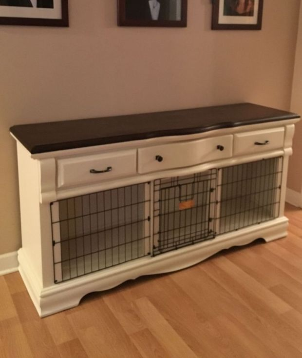 dog crate furniture ideas