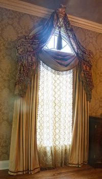 25+ best ideas about Victorian Window Treatments on ...