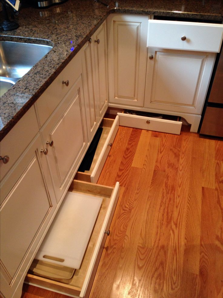 Ikea Cheap Kitchen Cabinets Great Use Of Space. Utilize The Extra Space Below Your