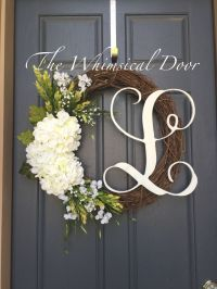 25+ best ideas about Hydrangea wreath on Pinterest ...