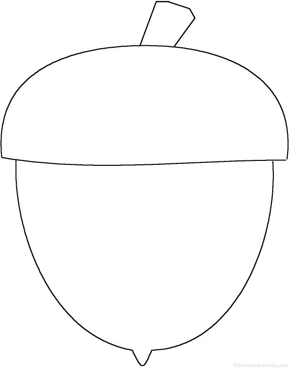 Fall Coloring Pages And Shapes Kindergarten Fall Autumn