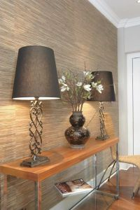 Cool natural wall covering - grasscloth wallpaper ...