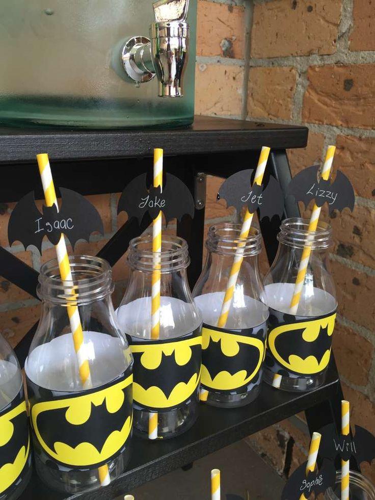 25 Best Ideas About Batman Birthday Parties On Pinterest