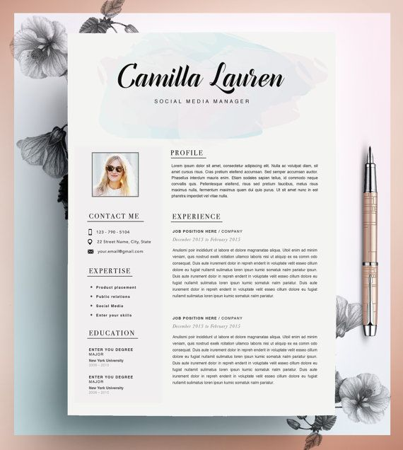 template cv opticien