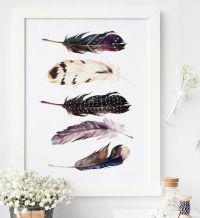 25+ best Bohemian wall art ideas on Pinterest   Cute ...