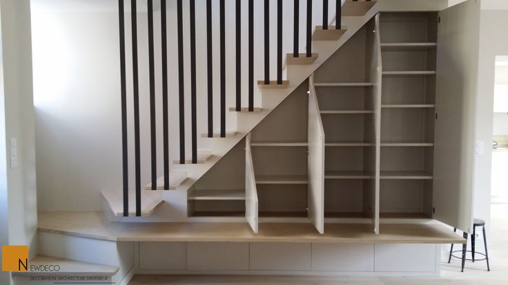 Idee Placard Sous Escalier