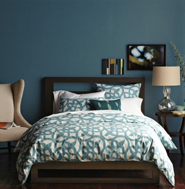 Petrol Wandfarbe Schlafzimmer 84 Best Images About Color: Teal Home Decor On Pinterest