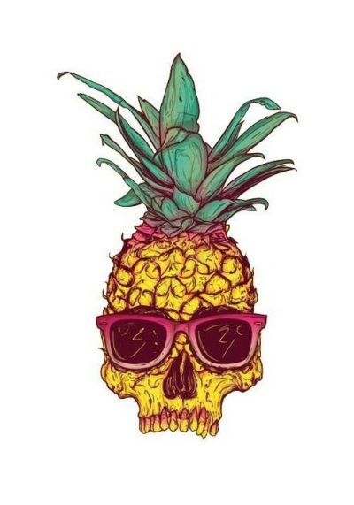 ayyy I like pineapple cartoon looking things. Found this and thought it'd be a rad iPhone ...