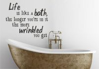 Bathroom quote to paint on wall or somehow use | Household ...