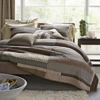 Essex Contemporary Quilt| Essex Neutral Bedding Collection ...