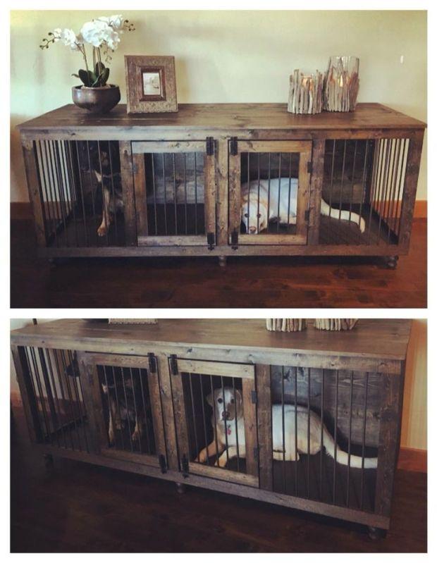 ideas dog crate furniture